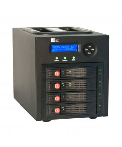 CRU, RTX430-3QR, 4-bay, RAID, subsystem, USB3/eSATA/FW800, 0TB, (user, configurable;, accepts, SATA, drives).,