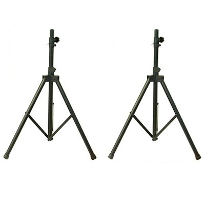Pair, of, Pro, Speaker, Stands, Up, To, 30kg, Capacity,