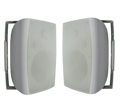 Sg, Pair, 6in, 100W, Outdoor, Speakers, White, GB623WH,
