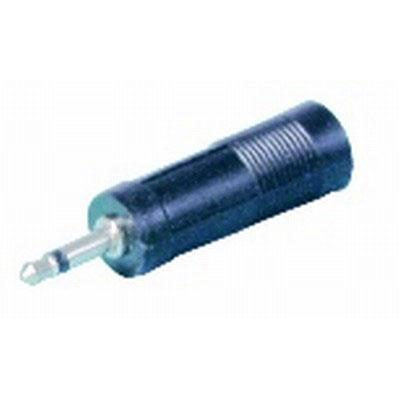 3.5mm, Mono, Plug, to, 6.5mmMono, Socket, Adaptor,