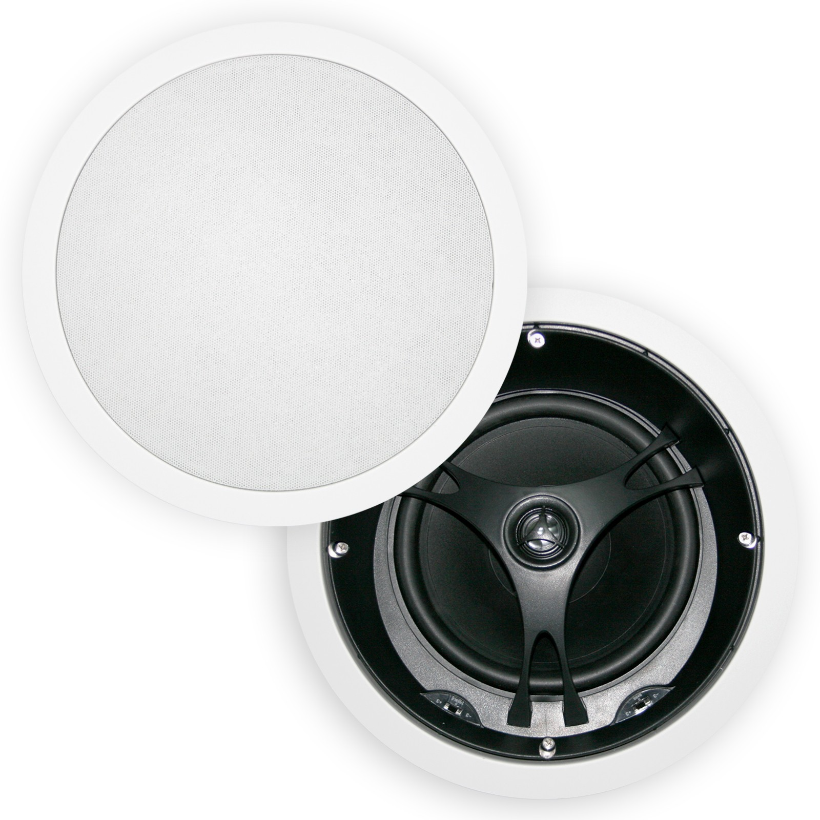 8, Angled, Poly, Cone, In, Ceiling, Speakers, Pair, XD8204.x2,