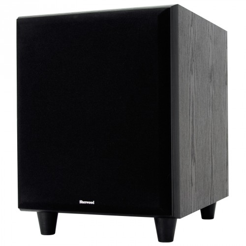 Sherwood, Teatro, 10-SW, 10, Front, Firing, 100W, Active, Subwoofer, Black,