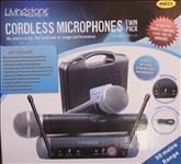 Livingstone, Cordless, Microphone, -, Twin, Pack,