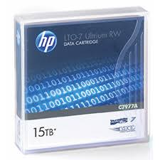 LTO7 Ultrium (6tb-15tb)/Hewlett-packard: Hp, Enterprise, C7977A, LTO7, Ultrium, 6TB, RW, Data, Cartridge,