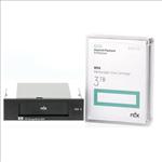 HP, Enterprise, RDX, USB, 3.0, Internal, Disk, Backup, System, with, 3TB, cartridge,