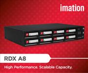 Imation, Scalable, Storage, RDX, A8, Removable, Hard, Disk, Storage, Library, iSCSI, External,