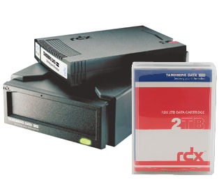 RDX/Tandberg Data/ Overland Storage: Tandberg, RDX, Drive, External, USB, 3.0, Plus, 2, x, 2TB, Drives,