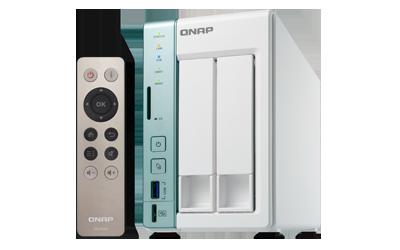 QNAP, TS-251A-2G, 2-Bay, Network, Attached, Storage, 2GB, DDR3L, RAM, (max, 8GB), SATA, 6Gb/s, 2, Giga, LAN, USB, QuickAccess, hardw,