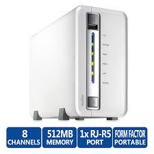 QNAP, VS-2108L, -, 2, Drive, 8, Channel, NVR, RAID, 0/1, 1, x, GbE, 2, year, Return, to, Base, Warranty,