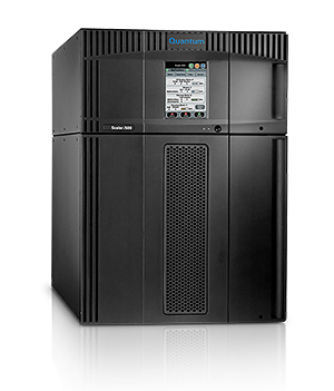 Quantum, Scalar, i500, 14U, 82, activated, slot, library, No, Drives, (expandable, to, 199tb, or, 399tb, compressed, via, LTO5, drives),