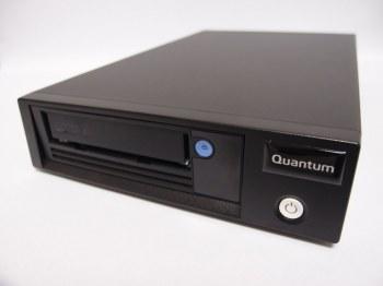 Quantum, LTO-6, Tape, Drive, Half, Height, Tabletop, 6Gb/s, SAS, Black.,