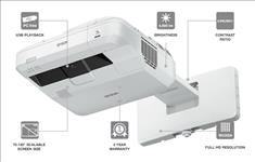 Epson, EB-700U, LASER, ULTRA, SHORT, THROW, WUXGA, 4000, lumen, Projector,