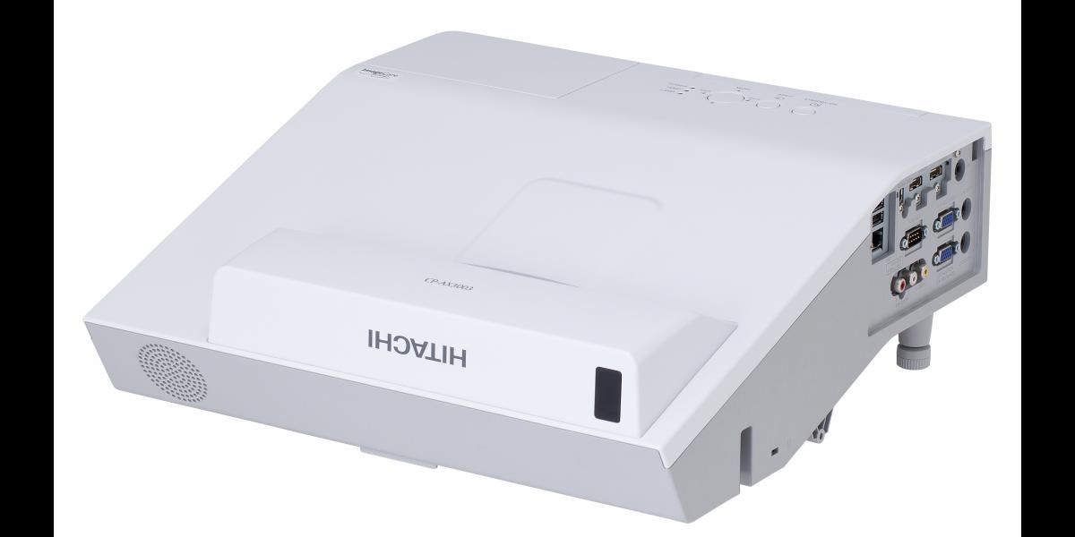 Hitachi, CP-AX3005M, 3300, Lumen, XGA, Ultra, Short, Throw, Projector,
