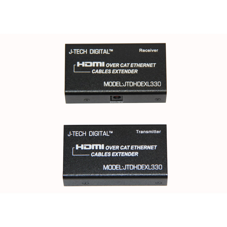 HDMI, to, UTP, adaptor,