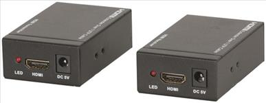 Digitech, TCP/IP, Cat5e, HDMI, Extender, -, 100m, with, IR, Repeater,