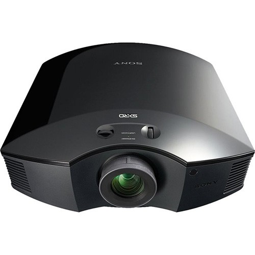 Sony, VPLHW45B, HD, 3D, SXRD, 1800, lum, Home, Theatre, Projector, -, Black,