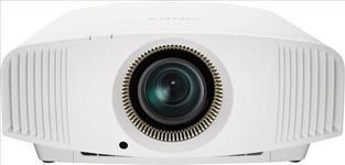 Sony, VPL-VW570W, SXRD, 4K, 3D, 1800, lumen, 350, 000:1, Contr, Home, Theatre, Projector, -, White,