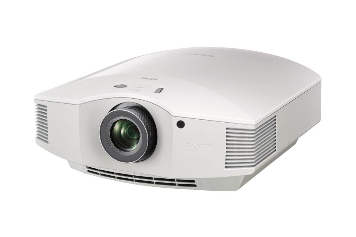 Sony, VPLHW45W, HD, 3D, SXRD, 1800, lum, Home, Theatre, Projector, -, White,