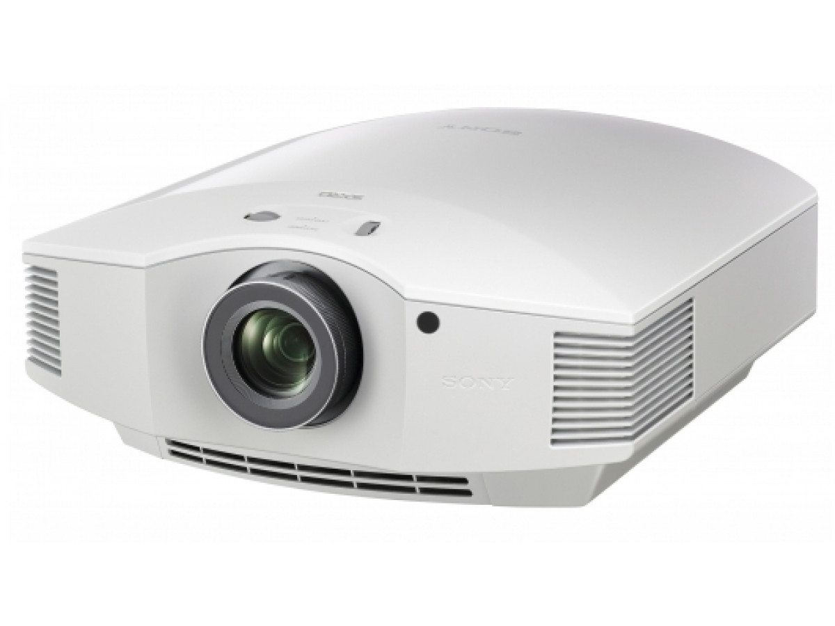 Sony, VPL-HW65ESW, White, FHD, 3D, Home, Theatre, 1800, ANSI, 120, 000:1, Projector,