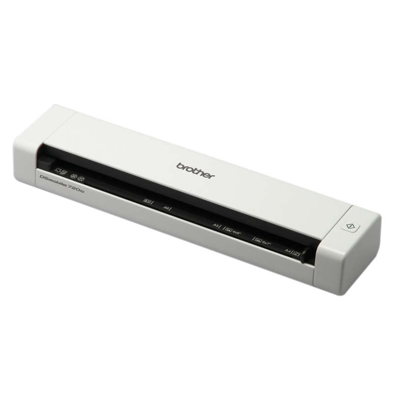 Brother, DS-720D, Mobile, Document, Scanner, 7.5, ppm, Mono/Colour,