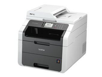 Brother, MFC-9140, A4, Colour, MFP, 22PPM, 192MB, RAM, USB, 2, LAN, 250, Sheet, Duplex, Laser, Printer,
