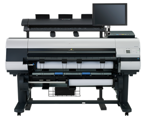 Large Format - MFP/Canon: Canon, IPF840MFP, 44, Printer, with, 40, M40, Scanner, Computer, Touch, Screen,