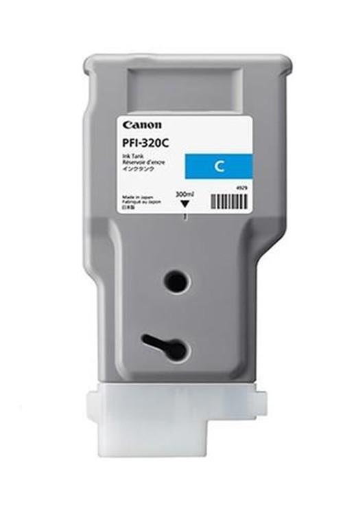 Canon, PFI-320C, CYAN, INK, FOR, TM, RANGE, -, 300ML,