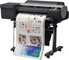 Canon, IPF6400, 24, A1, 12, COLOUR, GRAPHIC, ARTS, printer, with, Stand,