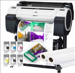 Canon, IPF670, 24, A1, 5, Colour, CAD, Printer, plus, Bonus, INK, and, PAPER,