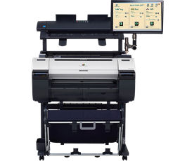 Canon, iPF670MFP, 24, A1, Printer, with, 25, Scanner, PC-Touchscreen,