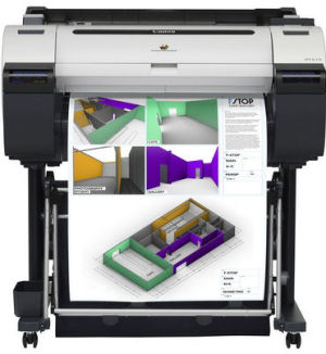 Large Format - A1/Canon: Canon, IPF680, A1, 24, 5, Colour, Technical, Printer, with, Stand, plus, INK/PAPER,