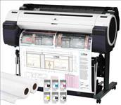 Canon, IPF770, 36, A0, 5, Colour, CAD, Printer, plus, Bonus, INK/PAPER,