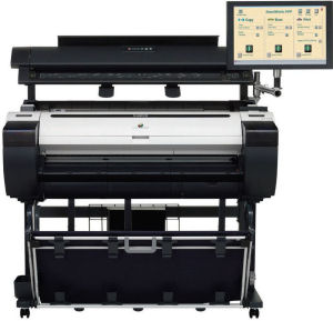 A0 Wide Format/Canon: Canon, iPF770MFP, 36, A0, Printer, 40, Scanner, PC, and, Bonus, INK/PAPER,