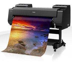 Large Format - B0/Canon: Canon, iPF, PRO-4000S, 44, B0, 8, Colour, Graphics, Printer,