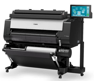 Canon, IPFTX3000, 36, 5, Pigment, Ink, Printer, with, Scanner, and, PC, plus, BONUS,