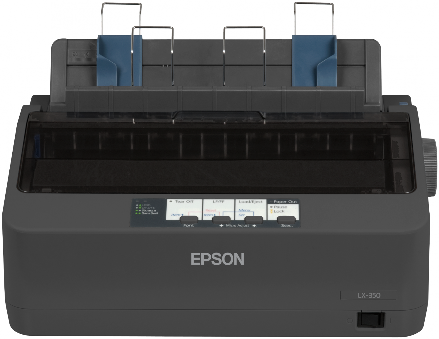 Epson, LX-350, 9, Pin, Narrow, Dot, Matrix, Printer,
