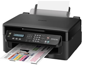 Fujitsu, Epson, WorkForce, WF-2510, 4, Colour, MFP, A4, Inkjet, Printer,