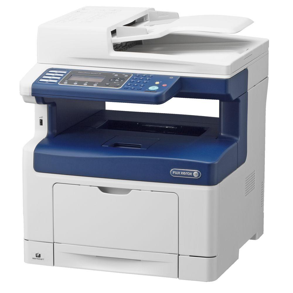 Fuji, Xerox, DP, M355DF, A4, Mono, MFP, Laser, Printer, 35ppm, Auto, Duplex,