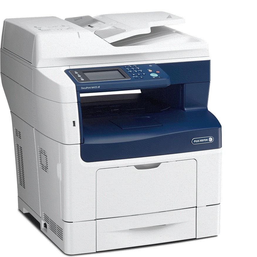 Fuji, Xerox, Docuprint, M455DF, A4, Mono, Laser, MFP,