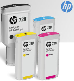 HP, T830, STARTER, PACK, -, Ink, Set, with, Large, Black, Ink,
