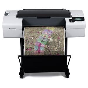 HP, Designjet, T790, 24, 6, ink, Postscript, Printer,