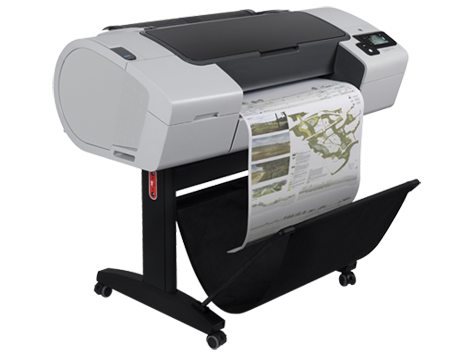 HP, Designjet, T790, 24, A1, 6, ink, Printer,