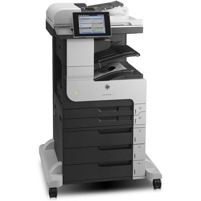 HP, LaserJet, MFP, M725Z, Mono, A3, Duplex, 3, trays, Laser, Printer,