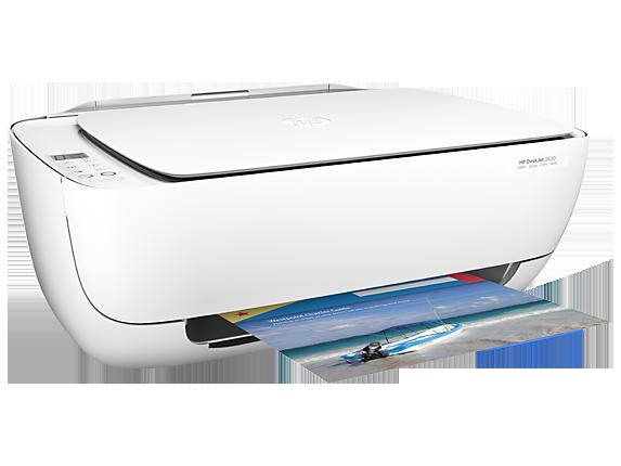 HP, DeskJet, 3630, All-in-One, A4, Inkjet, Printer,