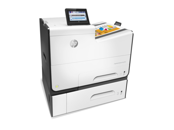 HP, Pagewide, 556XH, Enterprise, 50ppm, 2-Tray, Colour, Inkjet, Printer,
