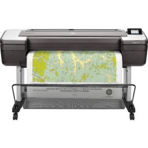 HP, DesignJet, T1700, B0, 44, 6, ink, Dual, Roll, Postscript, Printer,