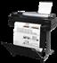 HP, Designjet, T520, 24-in, WiFi, 4-Ink, Printer, plus, Bonus, INK/PAPER,
