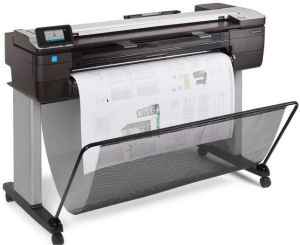 HP, DesignJet, T830, 36-in, A0, 4, Colour, Multifunction, plus, BONUS,