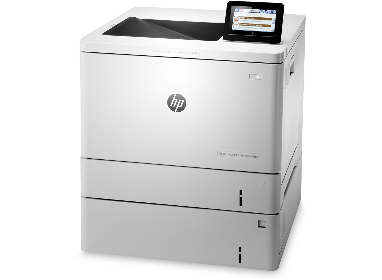 HP, Colour, LaserJet, Enterprise, M553x, A4, Laser, Printer,