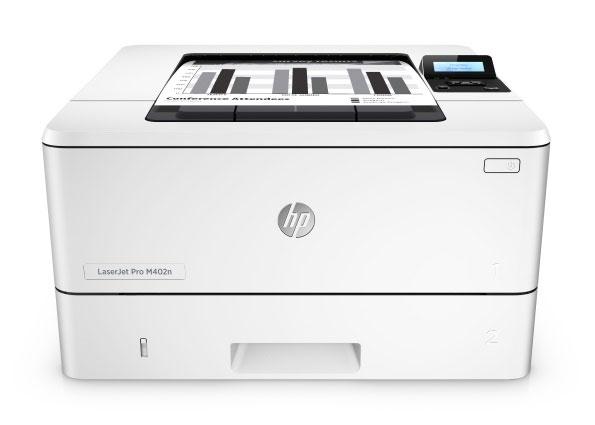 HP, LaserJet, Pro, M402N, Mono, A4, Laser, Printer,